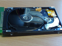 Cloning data from faulty hard disk drive to a functional hard drive.